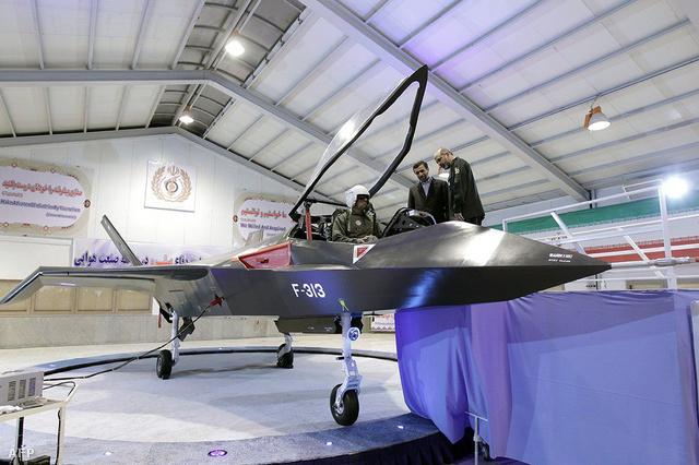 Az iráni hadsereg által közreadott fotó a vadászgépről. Nézze meg nagyban!