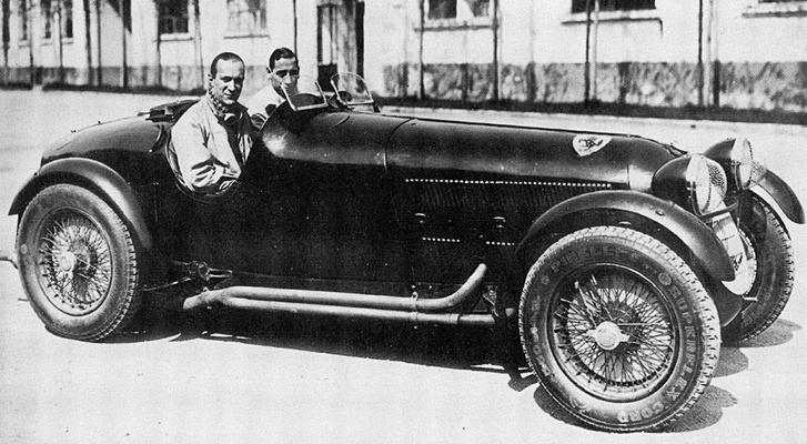 Alfa Romeo 8C2900A, 1935-ben. Már hordja a Ferrari istálló címerét az ágaskodó lovacskával