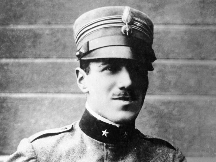 Francesco Baracca az első világháború kitörésekor