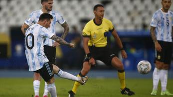 Messi lába a Copa Américán is elsült – videó