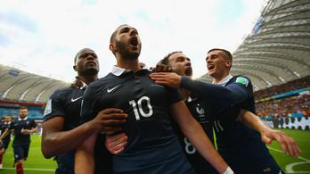 Felépült a franciák két sztárja, játszhatnak Németország ellen