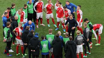 Újra tudnak mosolyogni a dán játékosok