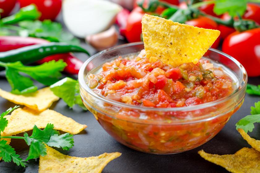 Mexikói chilis salsa házilag: tökéletes mártogatós a focimeccsekhez