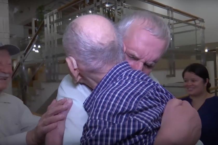 Egy 102 éves holokauszttúlélő először találkozik unokaöccsével, miután azt hitte, hogy az egész családja odaveszett a háborúban.