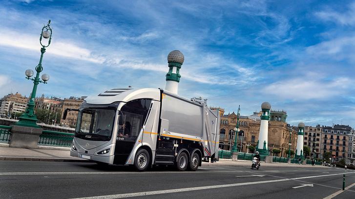 Az első sorozatgyártott kukás ie truck Barcelonában fog munkába állni