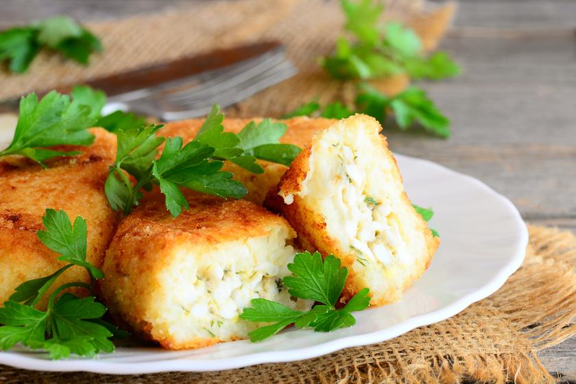 Ropogós, sajtos karfiolkrokett sütőben sütve: ezt edd a krumpli helyett, ha fogyni akarsz