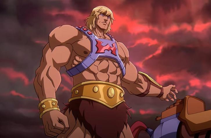 Egy jelenet a Neflix He-Man Masters of the Universe: Revelationből