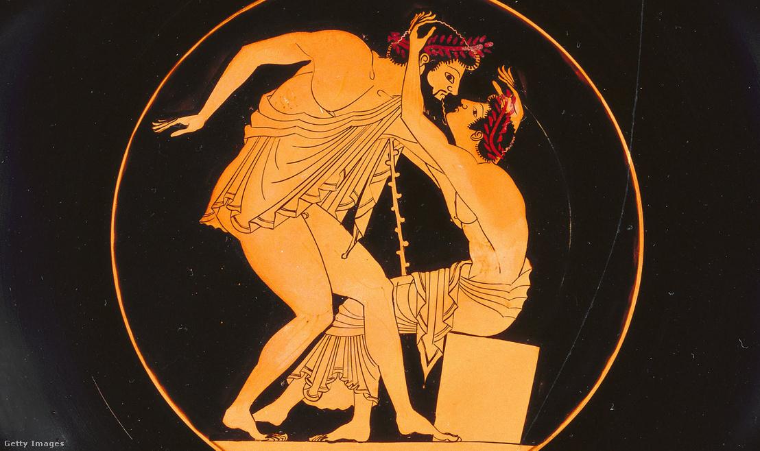 Görög váza Kr. e. 505-500
