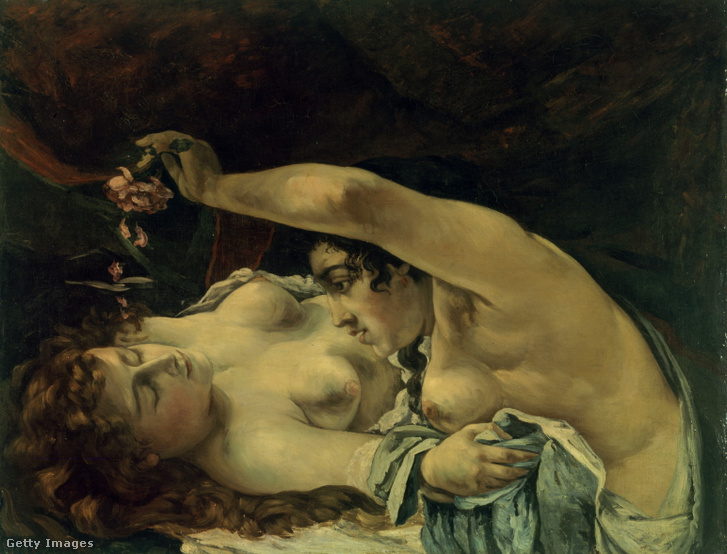 Gustave Courbet: Ébredés. 1866