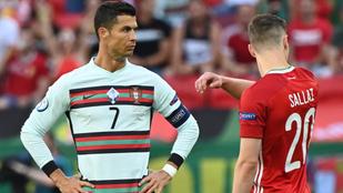 Cristiano Ronaldo a mieink ellen Eb-rekorderré vált