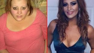 Ez a skót nő két okból kezdett fogyózni, látványos a végeredmény