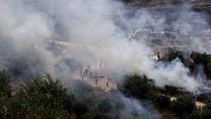 Újabb palesztin-izraeli összetűzés, sok a sérült