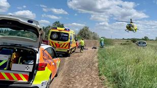 Élet és halál között lebeg motorcross-balesete után a kilencéves magyar kisfiú