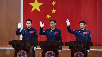 Három asztronautát küld fel Kína a Tienho űrállomására
