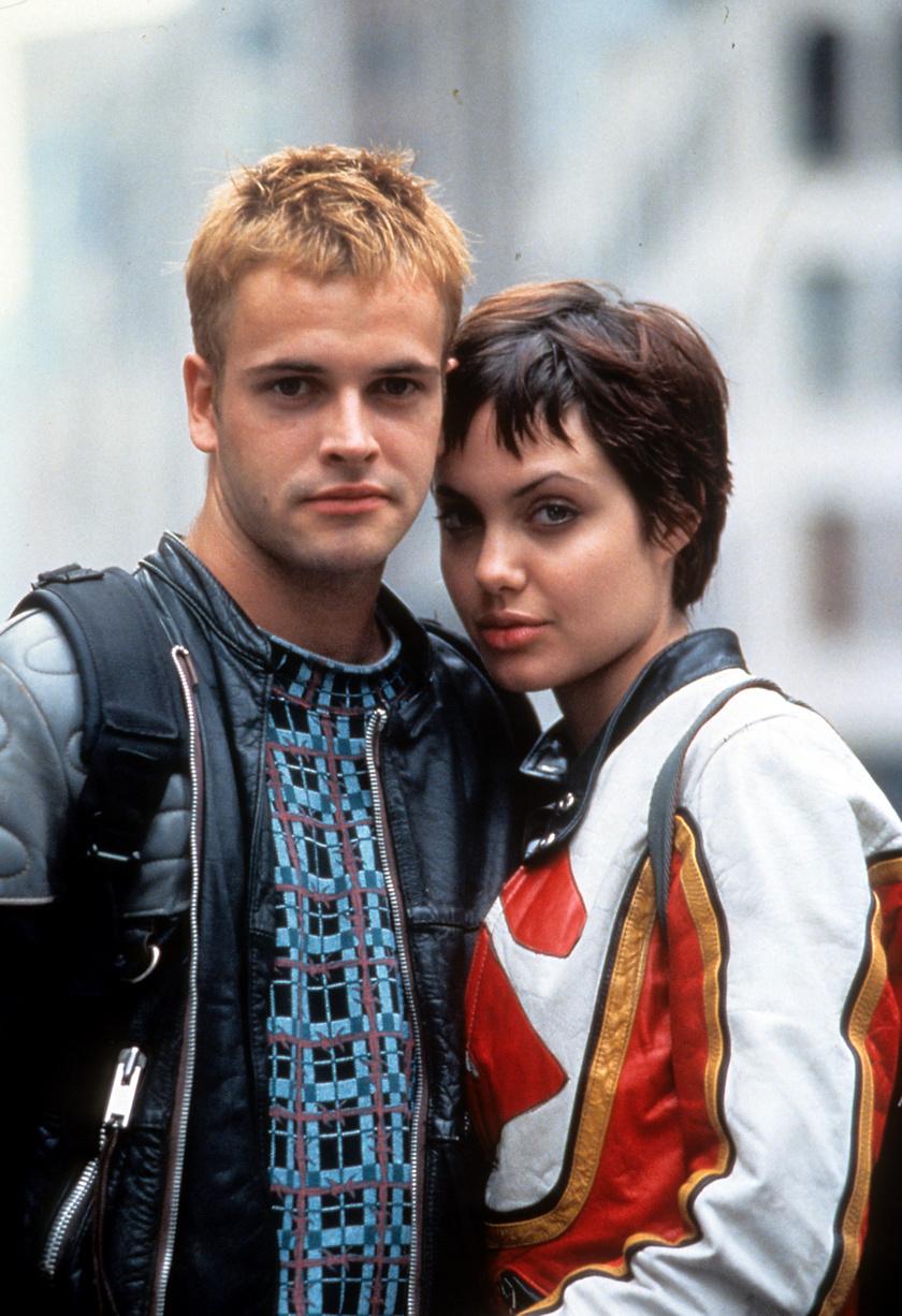 Az Adatrablók című 1995-ös film forgatásán szerettek egymásba.