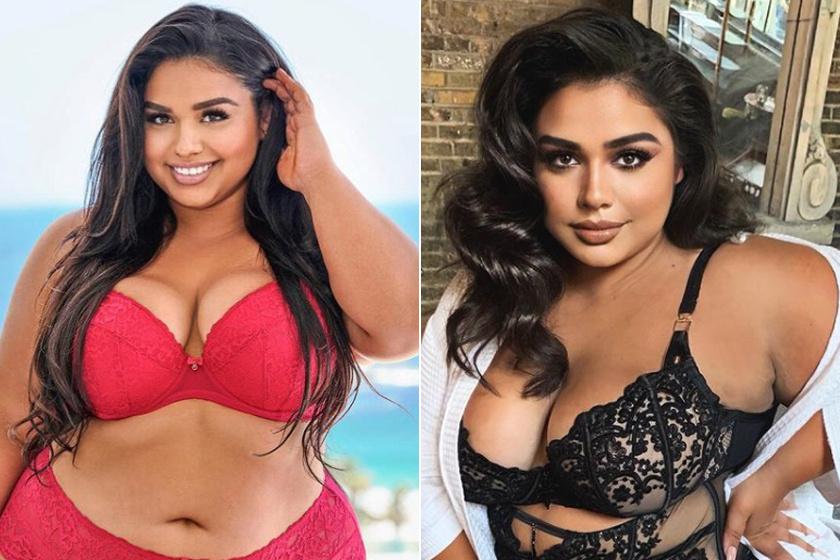 100 kilósan szexi fehérneműben pózol a magyar plus size modell: Sirokai Diána fotóját szétlájkolták