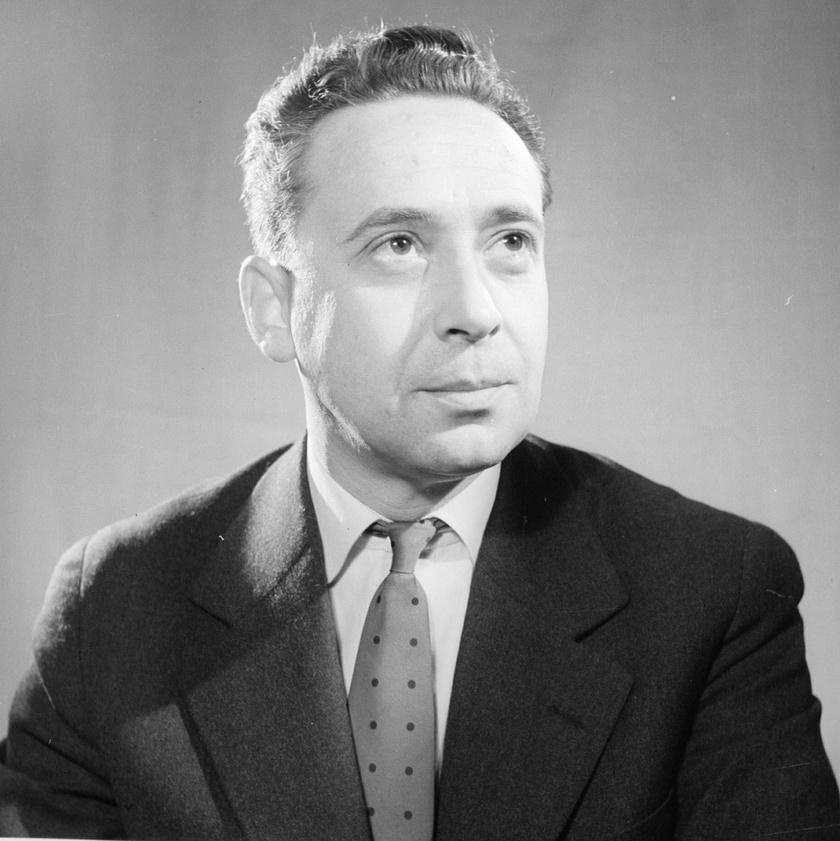 Máriássy Félix filmrendező, akit 1956. március 15-én Kossuth-díjjal ismertek el a nemzeti ünnep alkalmából rendezett díjátadó ünnepségen.