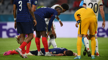 Videó: elájult az egyik francia játékos a keddi meccsen