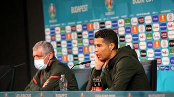Cristiano Ronaldo megmozdult, a Coca-Cola négymilliárd dollárt veszített