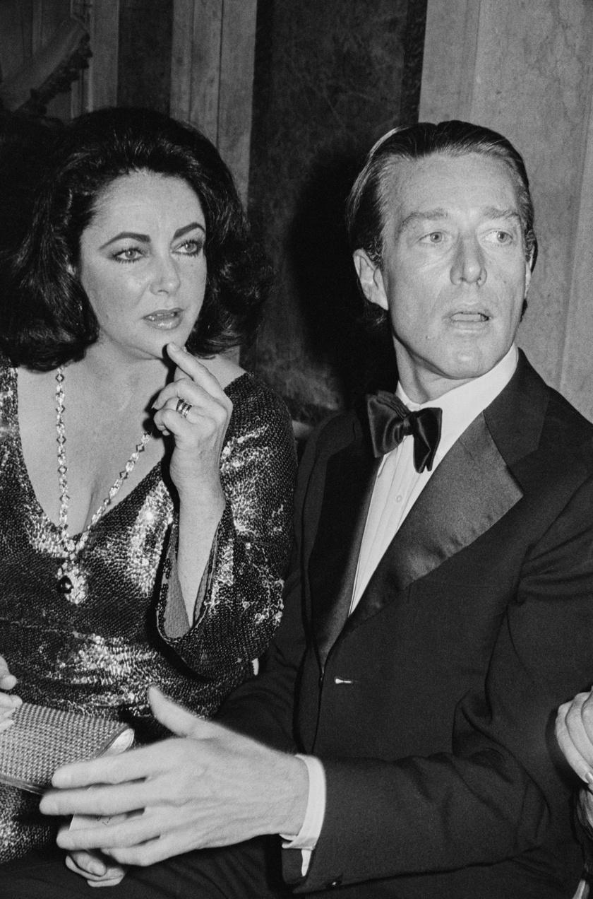 Halston és Elizabeth Taylor