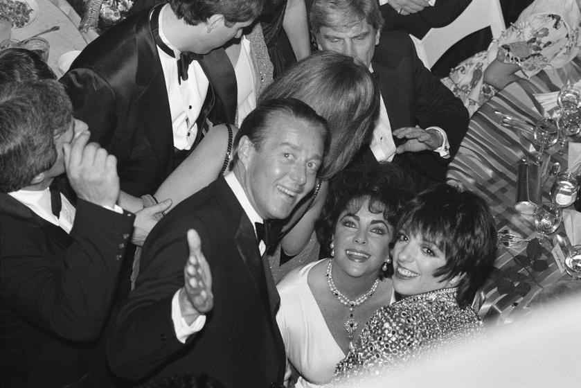 Roy Halston Frowick, Elizabeth Taylor és Liza Minnelli