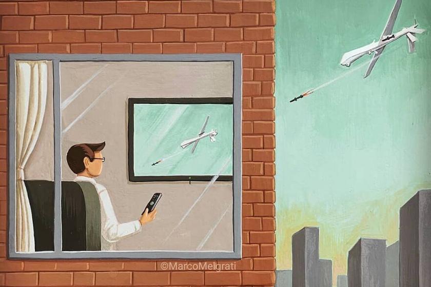 A képernyők miatt sokszor észre sem vesszük, hogy mi történik a való világban.
