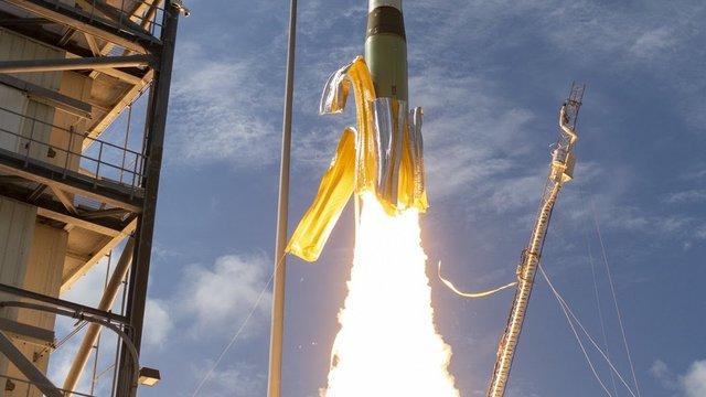 Banán rakétának is csúfolt Minotaur I indítás