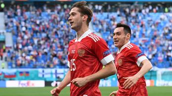 Nagyszerű góllal győzték le az oroszok a finneket