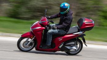 Teszt: Honda SH350 - 2021.
