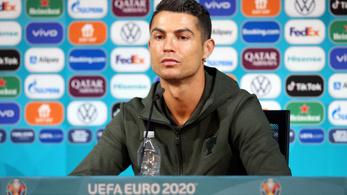 Cristiano Ronaldo akciója még sokba kerülhet a Coca-Colának