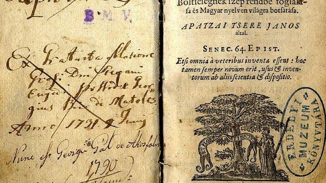 Az első magyar nyelvű enciklopédia