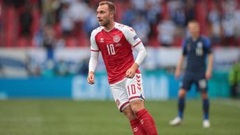 Eriksen tiszteletére egy percre megáll majd a dán-belga Eb-meccs