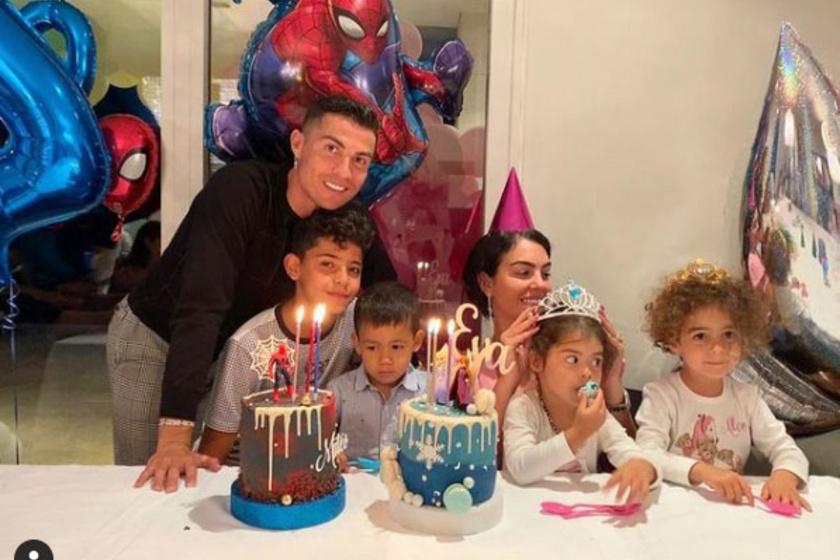 Június elején Mateo és Eva negyedik születésnapját ünnepelték meg.