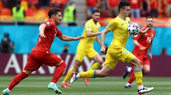 Ukrajna őrült meccsen győzte le Észak-Macedóniát