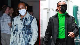 Ön tudta, hogy Lewis Hamilton ilyen extrán öltözködik?