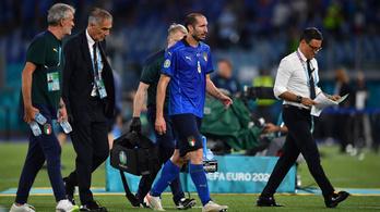 Giorgio Chiellini kihagyja a Wales elleni találkozót
