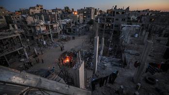 A Hamász létesítményeit támadta az izraeli légierő