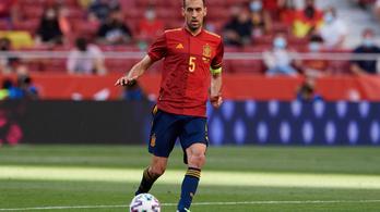 Sergio Busquets visszatér a spanyol válogatottba