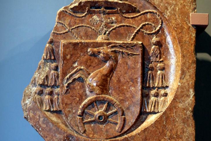 Bakócz Tamás címere (Pestről, 16. század eleje)