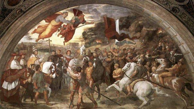 Attila és a vereséggel felérő döntetlen a rómaiakkal