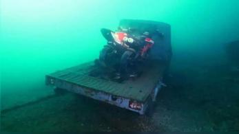 Kincsek nyugszanak a Comói-tó mélyén