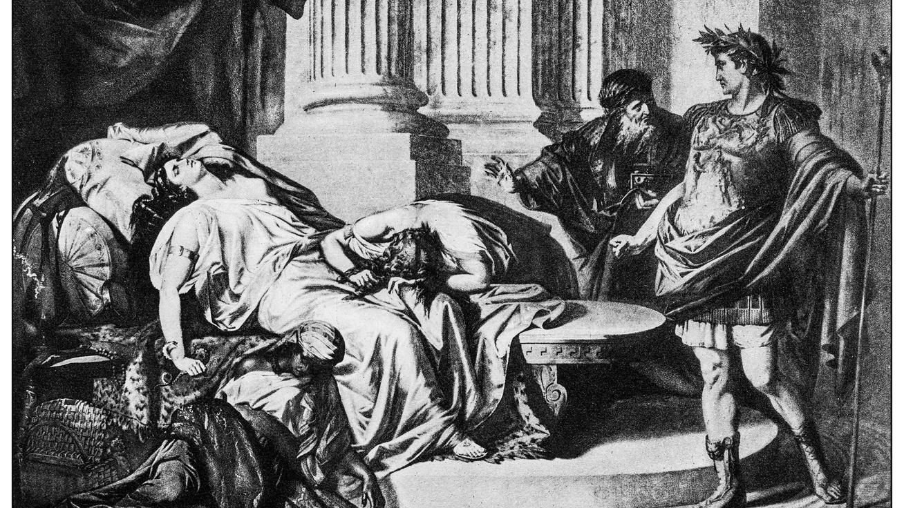 Hogyan halt meg valójában Kleopátra? A kígyómarás csak a hivatalos verzió