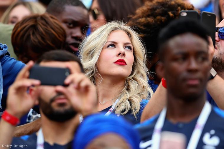 Camille Tytgat igazi focistafeleség: csak a családjának él, ahová csak teheti, elkíséri a férjét