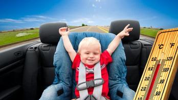 Ezért ne hagyd a forró autóban a gyereket