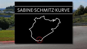 Kanyart neveznek el Sabine Schmitz-ről a Nordschleifén