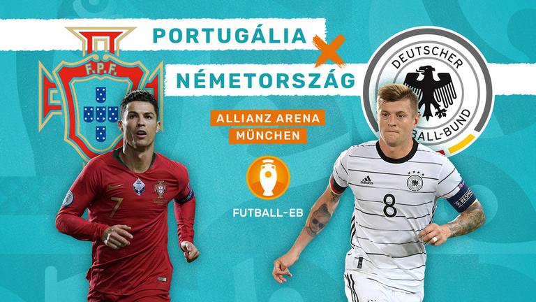Újabb csúcsrangadó: Portugália–Németország