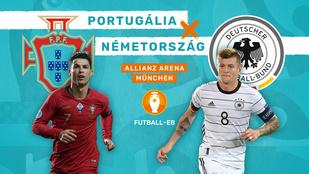 Újabb csúcsrangadó: Portugália–Németország - Újabb csúcsrangadó: Portugália–Németország