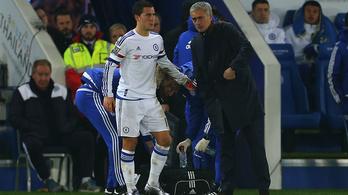 José Mourinho Eden Hazard-ról: Elképesztő játékos, az edzésen viszont szörnyű