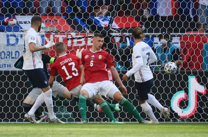 A gól pillanata