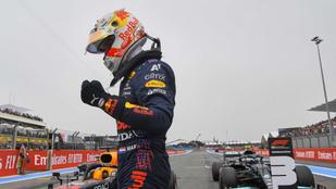 Űridőt autózva Verstappen nyerte a francia időmérőt